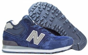 New Balance 574 High (Navy Blue) (054)
