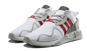 Adidas EQT Cushion ADV (White/Grey/Red) (035)