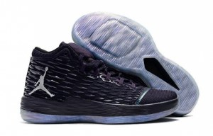 Air Jordan Melo M13 (Purple Dynasty/Metallic Silver) (002)