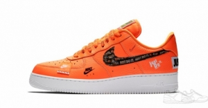 Nike Air Force 1 '07 Premium Just Do It Orange (061)