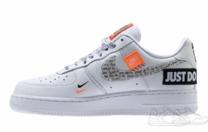 Nike Air Force 1 '07 Premium Just Do It White (062)