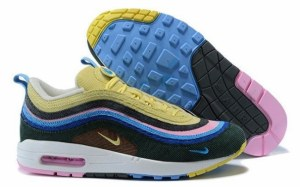 Nike Air Max 1/97 (Light Blue/Fury Lemon) (026)