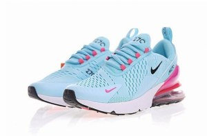Nike Air Max 270 (Blue/Pink/Black/White) (020)