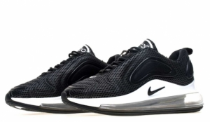 Кроссовки Nike Air Max 720 (Black/White) (011)