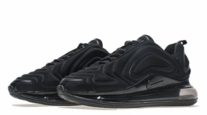Кроссовки Nike Air Max 720 (Triple Black) (003)