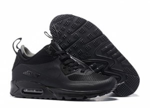 Nike Air Max 90 Mid (Black) (068)