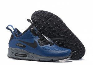Nike Air Max 90 Mid (Blue) (066)