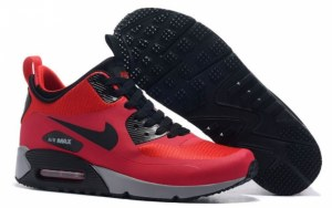 Nike Air Max 90 Mid (Red/Black) (070)