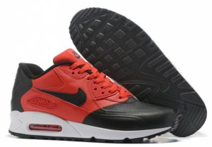 Nike Air Max 90 Premium SE (Black/Red) (071)