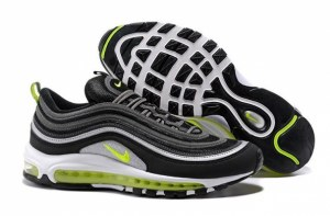 Nike Air Max 97 (Black Volt/Metallic Silver/White) (030)