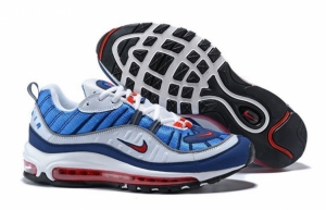 Nike Air Max 98 (Royal Blue/Red/Black/White) (009)