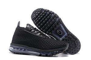 Nike Air Max Woven Boot (Black/Black-White) (001)
