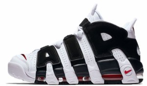 Nike Air More Uptempo (Black/White) (014)