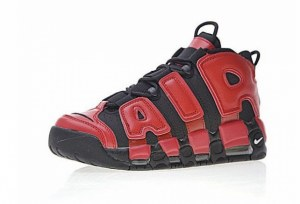 Nike Air More Uptempo QS (Black/Red) (017)