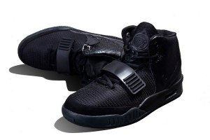 Nike Air Yeezy 2 All Black (015)