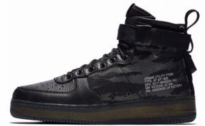Nike SF Air Force 1 Mid (Camo Black) (052)