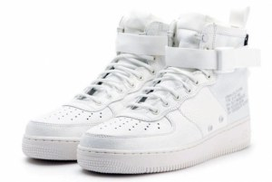 Nike SF Air Force 1 Mid (White) (054)