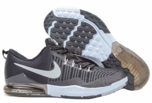 Nike Zoom Train Action (Black Anthracite/White Metallic Silver) (001)