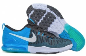 Nike Zoom Train Action (Black/Blue Glow/White) (004)