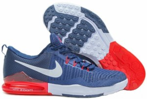 Nike Zoom Train Action (Dark Blue/Red/White) (005)