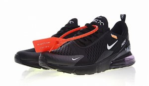 Off White x Nike Air Max 270 (Black) (008)