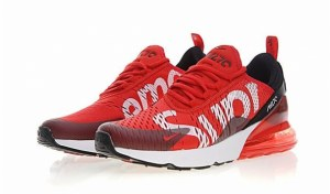Supreme x Nike Air Max 270 (Red) (012)